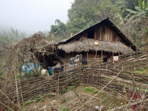 Trang and Tea's home in Lao Cai Province.