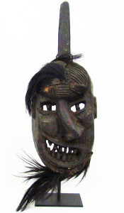 A Yao Shaman mask, from the early 20th century, acquired on our latest trip.