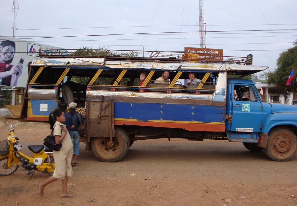 A local bus.