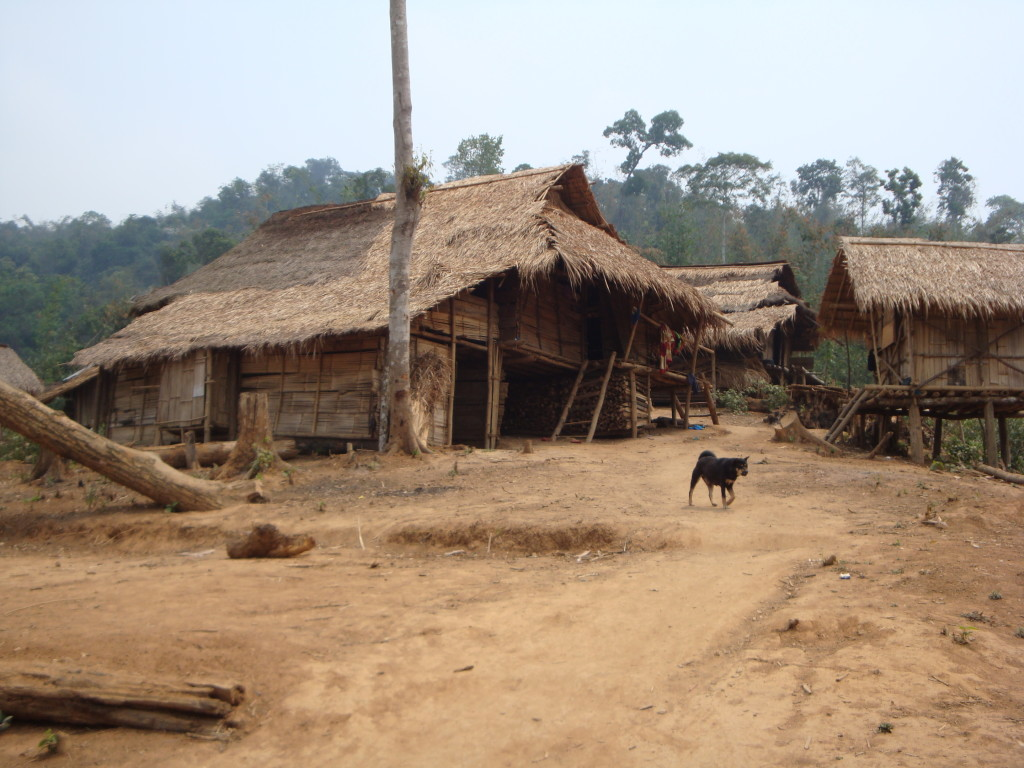 The basket weavers village in Meung Kuan district of Houaphon Province, Laos