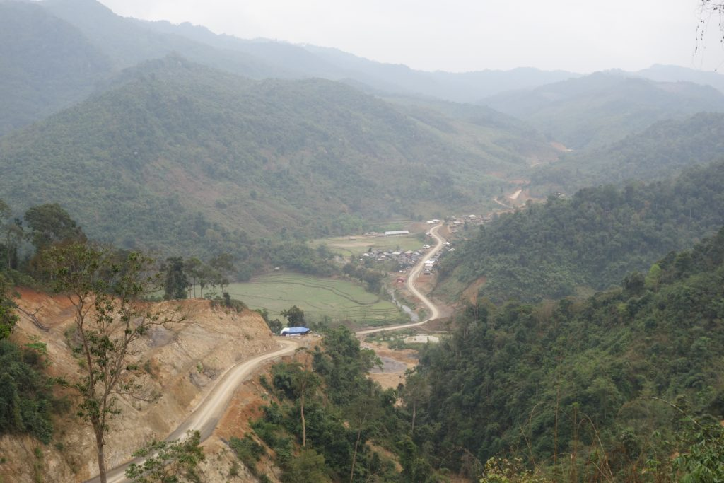 A new road in Houaphon Province brings electricity and access to villages that have traditionally beenvery isolated
