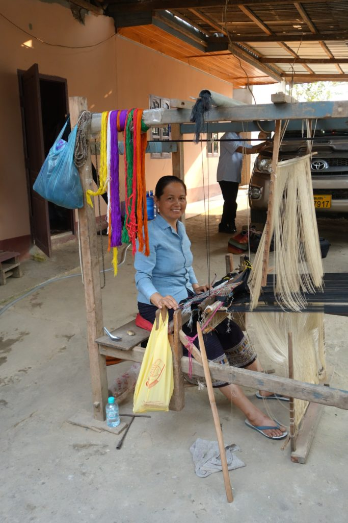Weaving provides a solid income for the majority of families in the region.